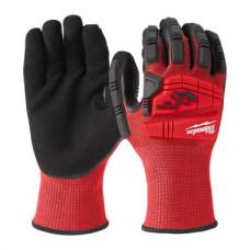 Перчатки Milwaukee с защитой от удара и сопротивлением порезам уровень 3 - 8/M