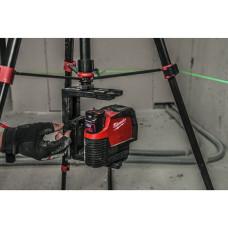 Аккумуляторный линейно-точечный лазерный нивелир Milwaukee M12 CLLP-301C (Li-Ion 3 Ач)
