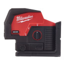 Аккумуляторный линейно-точечный лазерный нивелир Milwaukee M12 CLLP-0C