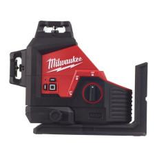 Аккумуляторный мультилинейный лазерный нивелир Milwaukee M12 3PL-0C