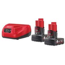 Комплект аккумулятор и зарядное устройство Milwaukee M12 NRG-602
