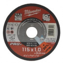 Отрезной диск по металлу Milwaukee E SCS 41 / 115 X 1 X 22.2 мм