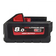 Аккумулятор Milwaukee M18 HB8 8.0 Ач