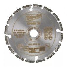 Алмазный диск Milwaukee DHMM 76 мм ДЛЯ M12 FCOT (1шт)