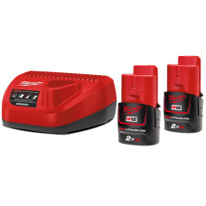 Комплект аккумулятор и зарядное устройство Milwaukee M12 NRG-202
