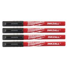 Набор ручек Milwaukee INKZALL Fine Tip (Черный) тонких