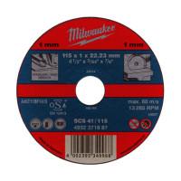 Отрезной диск Milwaukee по металлу SCS 41 / 180 X 1.5 X 22.2 мм