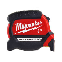 Магнитная рулетка Milwaukee GEN III 8м / ширина 27мм