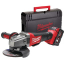 Набор Milwaukee M18 CAG125X-0 + HD BOX