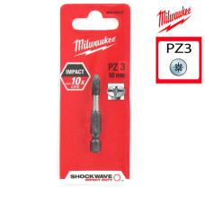 Биты Milwaukee для шуруповерта PZ3 25 мм