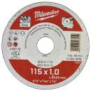 Отрезной диск Milwaukee по металлу SCS 41 / 115 X 1 X 22 мм