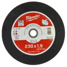 Отрезной диск Milwaukee по металлу SCS 41 / 230 X 1.9 X 22 мм