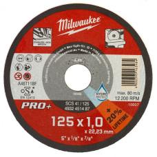 Отрезной диск Milwaukee по металлу SCS 41 / 125 X 1X 22.2 мм