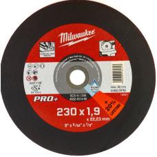 Отрезной диск Milwaukee по металлу SCS 41 / 230 X 1.9 X 22.2 мм