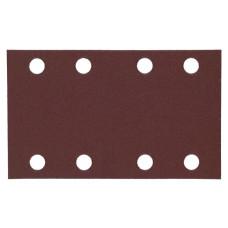 Шлифовальная бумага Milwaukee для орбитальных шлифмашин 80х133 мм зерно 80