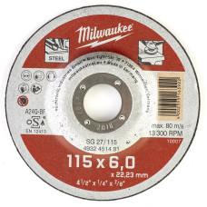 Шлифовальный диск Milwaukee по металлу SG 27 4932451481