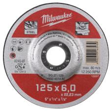 Шлифовальный диск Milwaukee по металлу SG 27 4932451482