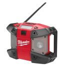Радио с возможностью подключения MP3 плееров Milwaukee M12 C12 JSR-0