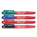 Набор маркеров Milwaukee INKZALL (Синий/Красный/Зеленый/Черный)