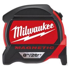 Рулетка Milwaukee Magnetic Tape Premium 8 м/16 дюймов